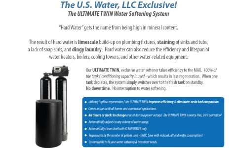 Ultimate Twin | Continuous Water Softener System