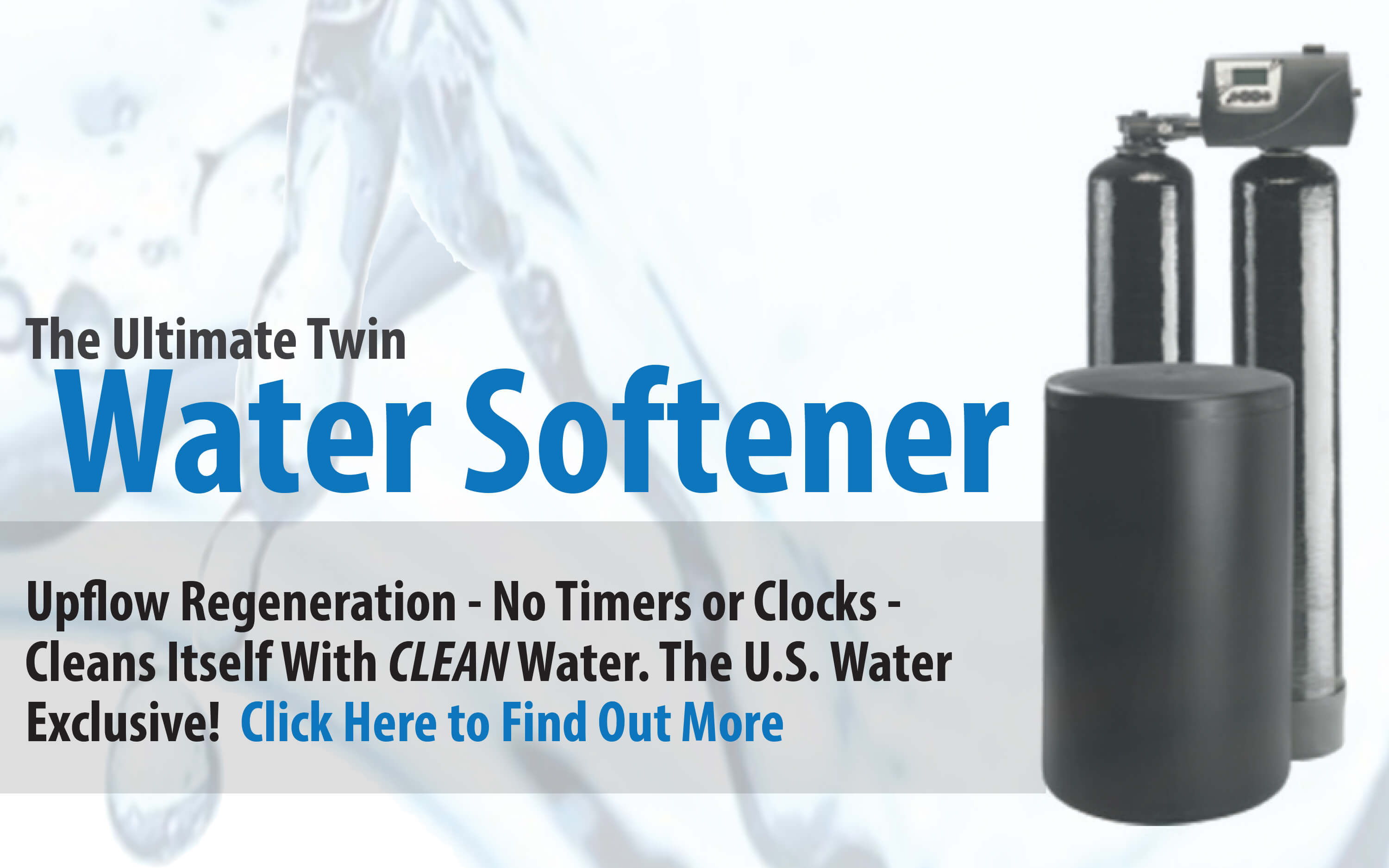 The Ultimate Twin Water Softener System