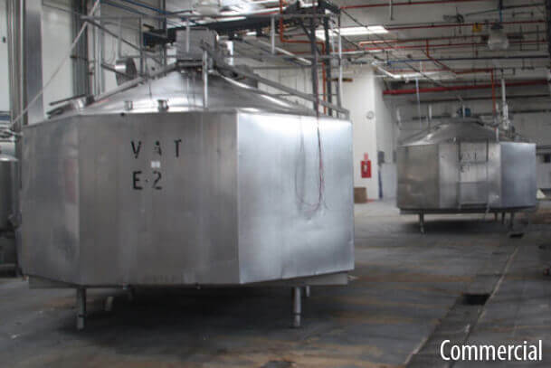 Water filtration systems for Commercial